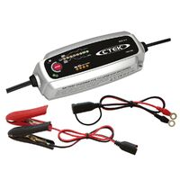 CTEK BATTERY CHARGER 12V 5 AMP 8 STAGE CHARGING WITH TEMPERATURE CONTROL MXS5.0