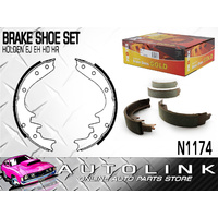 BRAKE SHOE SET TO SUIT HOLDEN HD HR 1965 - 1968 ALL MODELS (REAR) N1174