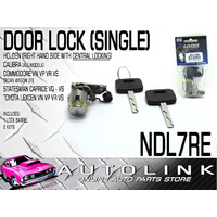 DOOR LOCK SINGLE RHS TO SUIT HOLDEN CALIBRA ALL MODELS 1993 - 1996 NDL7RE