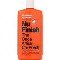 NU FINISH LIQUID CAR POLISH 473ml SUITABLE FOR FIBERGLASS BOATS RV'S MOTORCYCLE