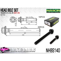 NASON HEAD BOLT SET FOR HOLDEN V8 5.7L 6.0L 6.2L LS SERIES VTII - VF NHBS140