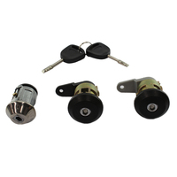 IGNITION BARREL & 2 DOOR LOCK SET FOR FORD TRANSIT VAN 7/1992-9/1999 2 KEYS