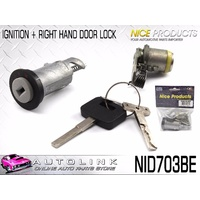 NICE IGNITION BARREL & 1 DOOR LOCK SET SUIT HOLDEN COMMODORE VS 6/1996 - 8/1997
