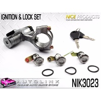 NICE NIK3023 IGNITION BARREL & LOCK SET FOR NISSAN PATROL Y60 2/1993-1/1998