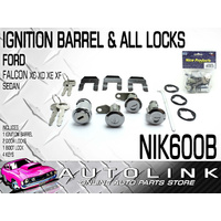 NICE NIK600B IGNITION BARREL & ALL LOCKS SET FOR FORD LTD FC FD FE 1976 - 1988