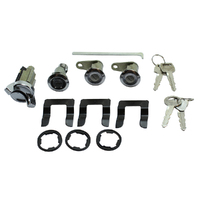 NICE NIK608B IGNITION & ALL LOCKS SET FOR FORD LTD & LANDAU SEDAN 1972 - 1976