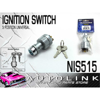 IGNITION STARTER SWITCH UNIVERSAL 5 POSITION MOUNTING HOLE DIA: 17mm NIS515