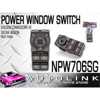 NICE NPW706SG POWER WINDOW MAIN SWITCH FOR HOLDEN COMMODORE VE SEDAN WAGON GREY