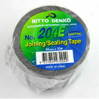 NITTO DUCT TAPE PREMIUM QUALITY JOINING SEALING PVC TAPE 48mm X 30M ROLL GREY x1