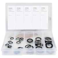 OEX ORX7002 A/C AIR CON SEALING WASHER KIT SUIT R134A R12 GM HOLDEN 50 PIECE