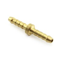 "BRASS HOSE JOINER 3/16"" BSP - BARBED ( P7-03 ) AIR LINE & COMPRESSOR FITTINGS"