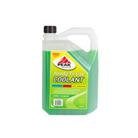 PEAK READY TO USE GREEN ANTI-FREEZE ANTI-BOIL COOLANT 5L PKRC4SP005