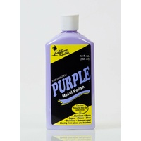 PURPLE METAL POLISH THE ORIGINAL 355ML ALUMINUM BRASS COPPER CHROME SILVER S/S