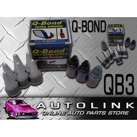 QBOND QB3 PLASTIC WELD LARGE KIT ULTRA STRONG BLACK & GREY POWDERS