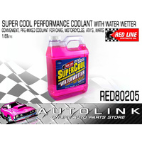 REDLINE RED80205 SUPERCOOL WATER WETTER PREMIXED PERFORMANCE COOLANT 1.89L