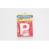 P & L PLATE DRIVING SET - INCLUDES REVERSIBLE GREEN RED P PLATES & L PLATE PAIR