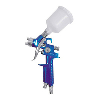 PROKIT SMALL GRAVITY FEED SPRAY GUN 150ml CUP, IDEAL FOR HOBBY JOBS RG5099