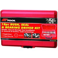PROKIT 10PCE OIL SEAL & BEARING INSTALL KIT INCLUDES DRIVER HANDLE + CASE