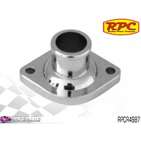 RPC CHROME STEEL THERMOSTAT STRAIGHT HOUSING SUIT CHRYSLER V8 1964 ON RPCR4987