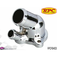RPC CHROME STEEL THERMOSTAT HOUSING SUIT OLDSMOBILE 330 350 425 455 RPCR9403