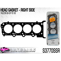 PERMASEAL HEAD GASKET RIGHT SUIT FORD BF FPV COBRA FORCE8 BOSS 290 V8 2006 2008