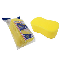 CAR WASH SUPER SPONGE MEDIUM DOG BONE SHAPED 4WD BOAT WINDOW CLEANING SPDBM X2