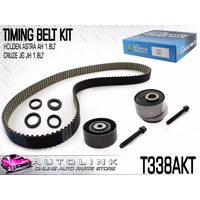 TIMING BELT KIT FOR HOLDEN BARINA TM 1.6L 4CYL F16D4 11/2011 - ON T338AKT