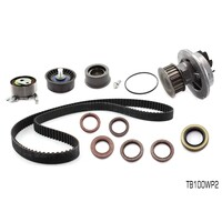 TIMING BELT KIT + WATER PUMP FOR HOLDEN VIVA JF 1.8L DOHC 4CYL F18D3 TB100WP2