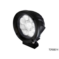 THUNDER 9 LED 140mm ROUND DRIVING LIGHT 12-24V 6,300 LUMENS TDR08014 x1