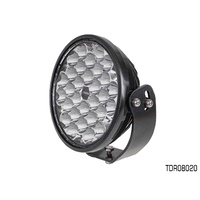 THUNDER 20 LED 235mm ROUND DRIVING LIGHT 10-32V 14,550 LUMENS TDR08020 x1