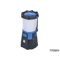 THUNDER 20 LED DIMMABLE CAMPING LANTERN WITH BUILT IN BATTERY BANK TDR08604