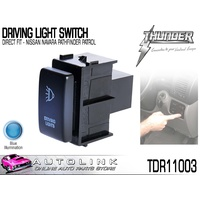 THUNDER DRIVING LIGHT SWITCH OE DIRECT FIT NISSAN NAVARA D40, PATHFINDER 2005-14