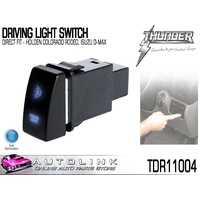 THUNDER TDR11004 DRIVING LIGHT SWITCH DIRECT FIT HOLDEN COLORADO 2008 - 2012