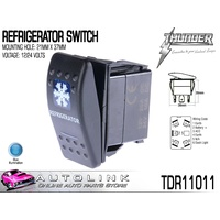 THUNDER REFRIGERATOR ROCKER SWITCH 20AMP @ 12V MOUNT: 21mm x 37mm TDR11011