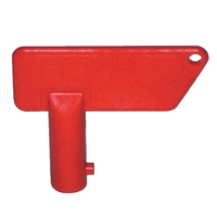 THUNDER RED REPLACEMENT KEY FOR TDR11043 BATTERY MASTER SWITCH TDR11044