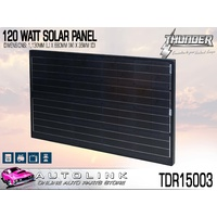 THUNDER 120 WATT SOLAR PANEL 1130mm x 680mm MONOCRYSTALLINE ( TDR15003 )