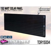 THUNDER 150 WATT SOLAR PANEL 1480mm x 680mm MONOCRYSTALLINE ( TDR15004 )