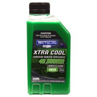 TECTALOY TEX500 XTRA COOL GREEN COOLANT 500ml TREATS 10 LITRES COOLING SYSTEM x2