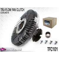 TRU-FLOW FAN CLUTCH FOR FORD LTD FC FD , LANDAU P5 302 351 CLEVELAND V8 TFC101