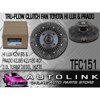 CLUTCH FAN FOR TOYOTA LANDCRUISER PRADO KZJ95 1KZ-TE 4CYL 3.0L TURBO DIESEL 00-