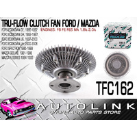 CLUTCH FAN FOR FORD SPECTRON 4CYL 1.8lt F8 ENGINE 5/1984 - 12/1986