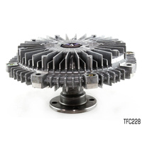TRU FLOW FAN CLUTCH FOR MITSUBISHI TRITON ML MN 2.5L 4CYL T/DIESEL TFC228