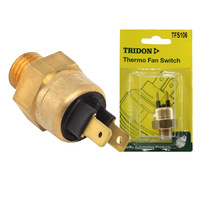 TRIDON THERMO FAN SWITCH TFS106 FAN ON @ 95 °C - OFF @ 90 °C M14 x 1.5 BRASS