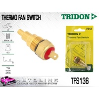 TRIDON THERMO FAN SWITCH FOR FORD METEOR GC 1.6L 4CYL 1985 - 1987 TFS136