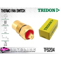 TRIDON THERMO FAN SWITCH TFS204 FAN ON @ 90 °C - OFF @ 85 °C M16 x 1.5 BRASS