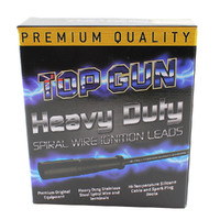 TOP GUN IGNITION LEAD SET SUIT HOLDEN COMMODORE VTII VU VX VY V6 (HEAT SHIELDS)