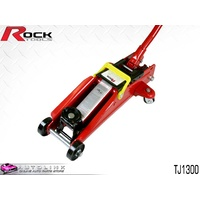ROCK GARAGE STEEL HYDRAULIC JACK 1300KG LOWERED 130mm RAISED 350mm TJ1300