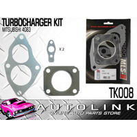 TURBO CHARGER GASKET KIT SUIT MITSUBISHI GALANT HH E38A E39A - 4G63 1987-1992