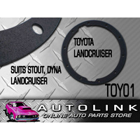 DIFF GASKET SUIT TOYOTA LANDCRUISER FRONT DIFF TO 1990 TOY01 x1