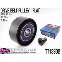 DRIVE BELT IDLER PULLEY FLAT FOR TOYOTA HIACE 3.0L 4CYL TURBO KDH# 11/2006-ON